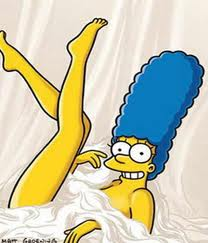 Marge von einem Blatt bedeckt