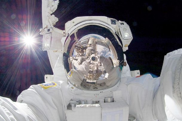Selfie from space