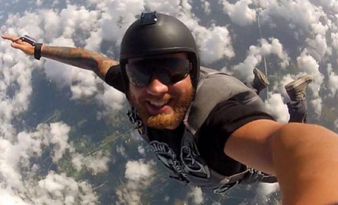 Selfie từ trên cao