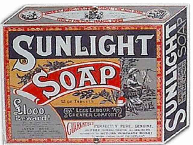 Soap bar-William Hesketh Lever (1884)