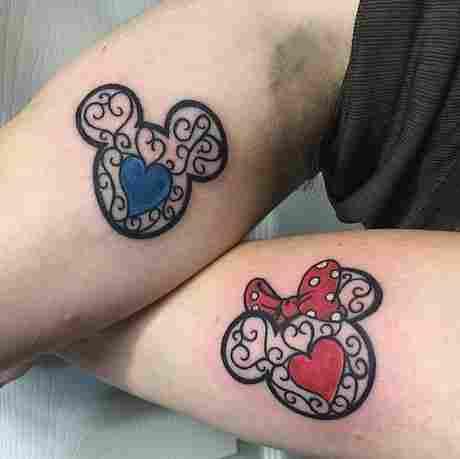 Impresionantes tatuajes de amantes de Disney