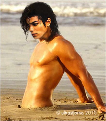 michael / on the beach
