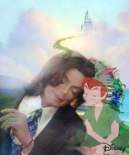 michael / with peter pan