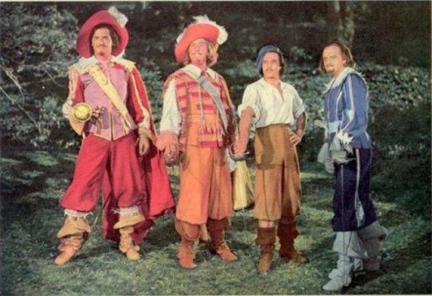 Tiga musketeer