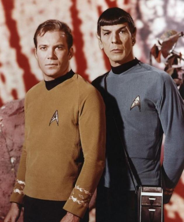 C.Kirk & Mr Spock