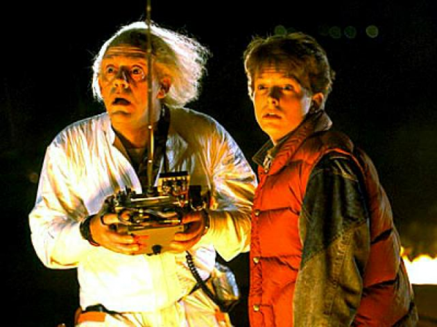 Doc & Marty Mcfly