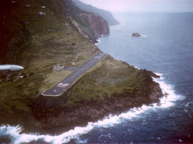 Juancho E. Yrausquin, Saba (Antilhas Holandesas)