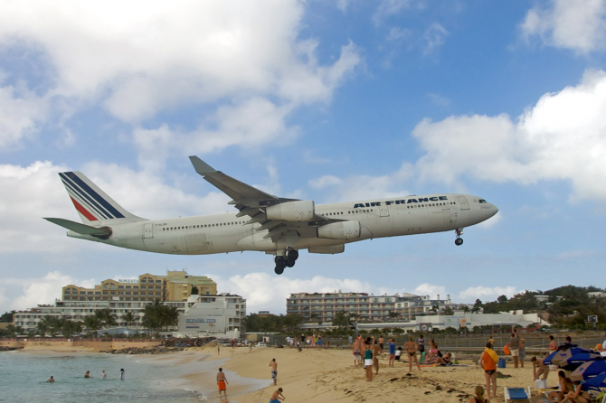 Princess Juliana, Saint-Martin (Antilles holandeses)