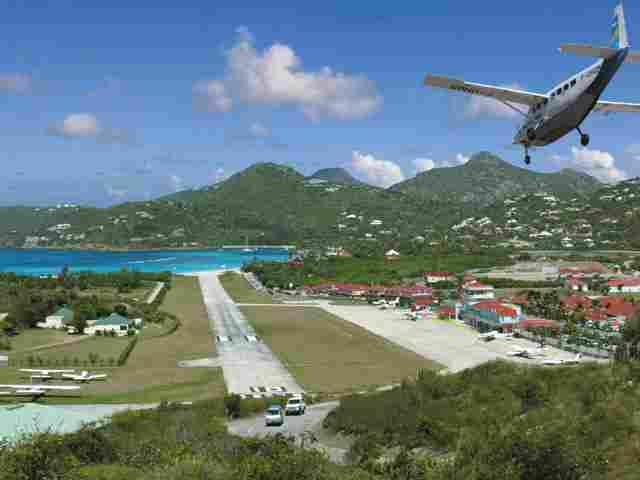 Saint Marteen, Saint-Barthélemy (Antillas)