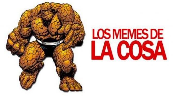Los mejores memes de La Cosa