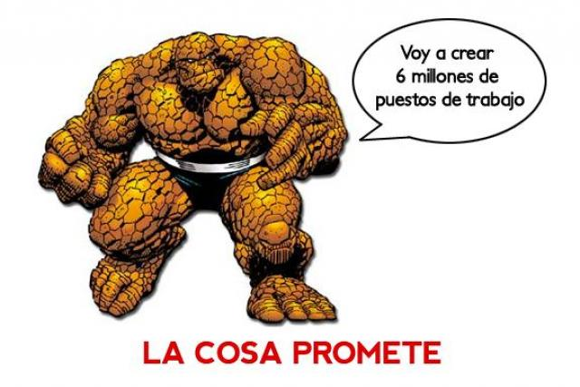 The thing promises
