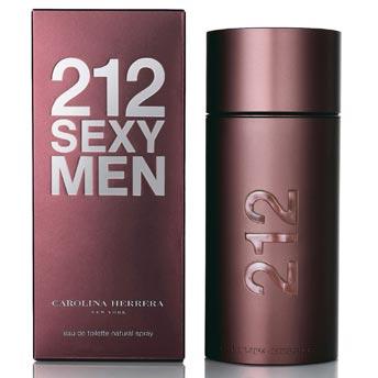 212 сексуальных мужчин от CAROLINA HERRERA