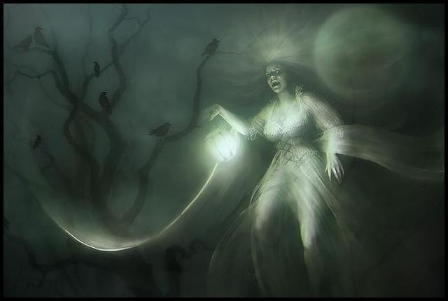 La dame de la mort