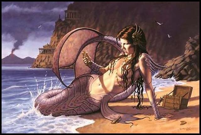 O mito das sereias