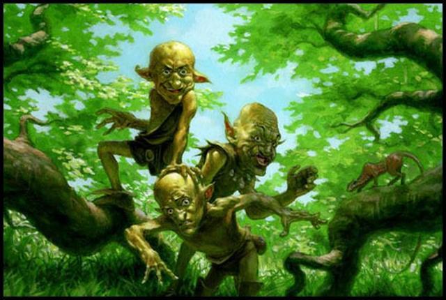 São Patrício e os elfos