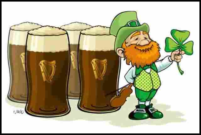 The passion of the Irish for beer