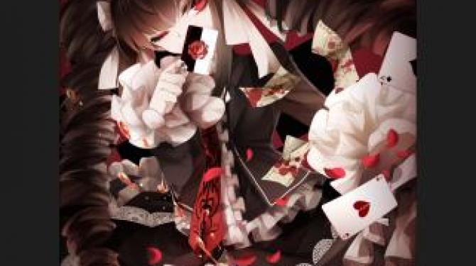 Gothic anime girls