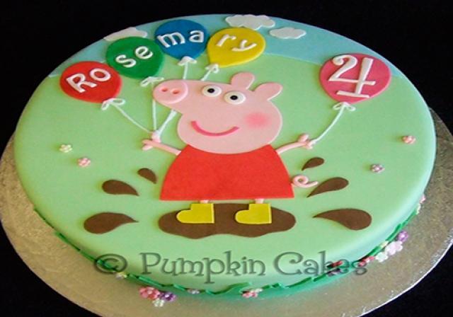 Feliz Aniversário Peppa Pig
