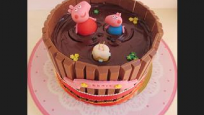 The best cakes of Peppa Pig