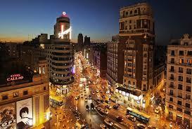 Madrid, Gran Via, Sol ...