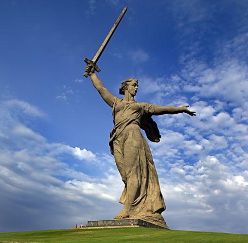Statue de la mère patrie