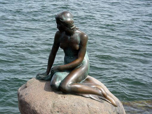Statue Petite Sirène