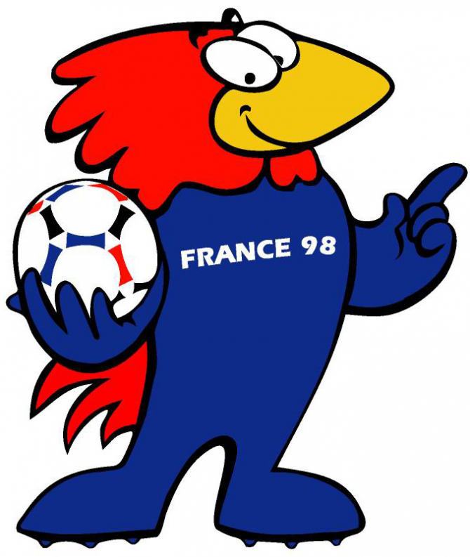 Footix - Frankrike 98