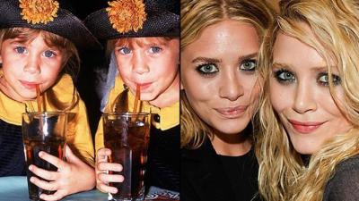 Antes e depois do famoso
