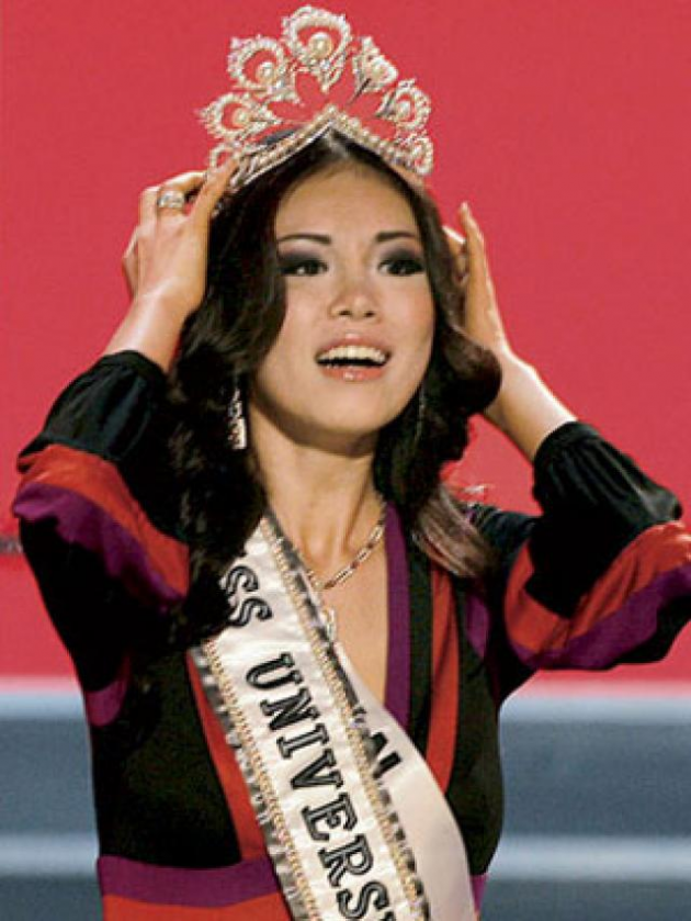 Riyo Mori (Miss Universo 2007, Japão.)
