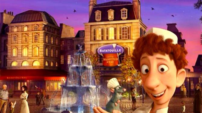 Лучшие рестораны парижского Диснейленда