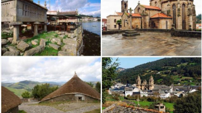 De vackraste byarna i Galicien