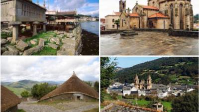 Kampung-kampung yang paling indah di Galicia
