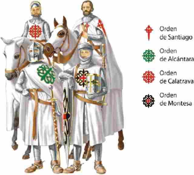 Рыцари ордена Монтесы