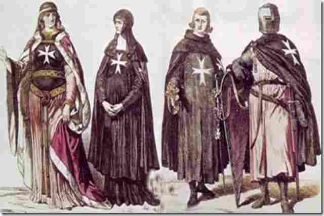 Knights of the Order of Malta or Knights Hospitallers