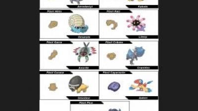 Le meilleur Pokémon préhistorique