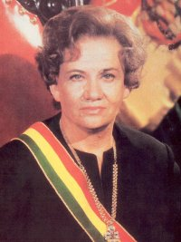 BOLIVIA-LIDIA GUEILER TEJADA
