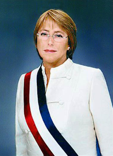 CHILE-MICHELLE BACHELET JERIA
