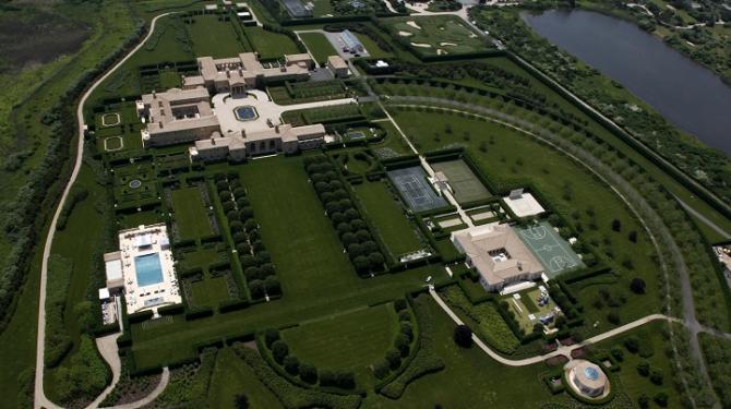 फेयरफिल्ड पोखरी 'द ह्याम्प्टन', न्यूयोर्क: अमेरिका $ २२० मिलियन