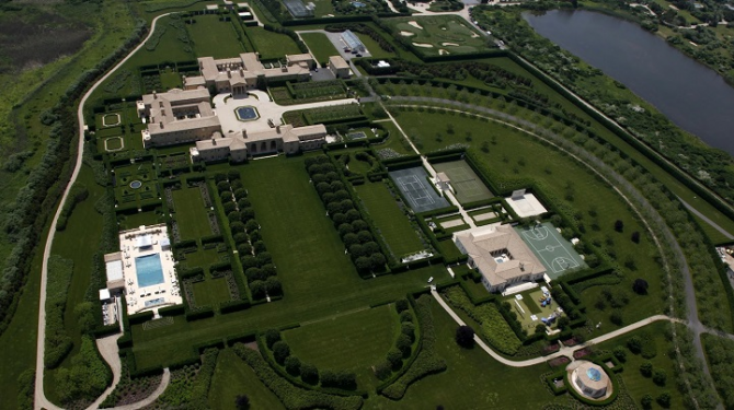 Fairfield Pond 'The Hamptons', New York: 220 miljoner dollar