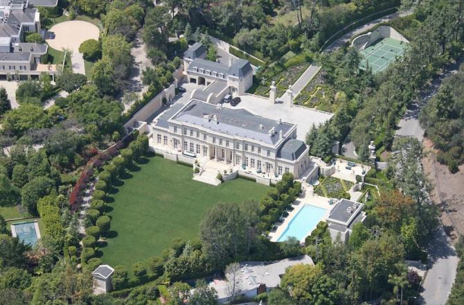 Fleur De Lys, Beverly Hills, Kalifornien, USA - 125 miljoner dollar