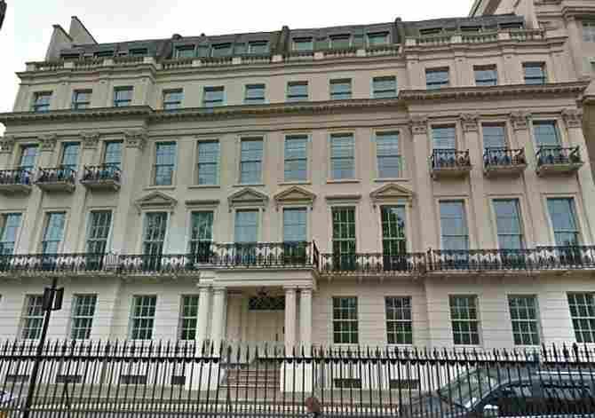 Hariri's London Mansion, Londres (Inglaterra): US$484 millones