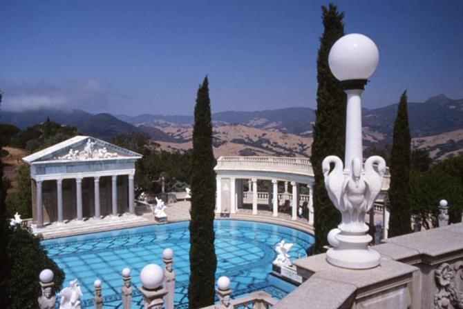 Hearst Castle, Kalifornien: 350 miljoner dollar