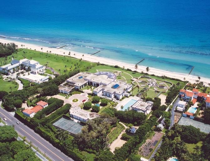 मैसन डी एल'आमिति, फ्लोरिडा (संयुक्त राज्य अमेरिका): अमेरिकी $ १ million० मिलियन