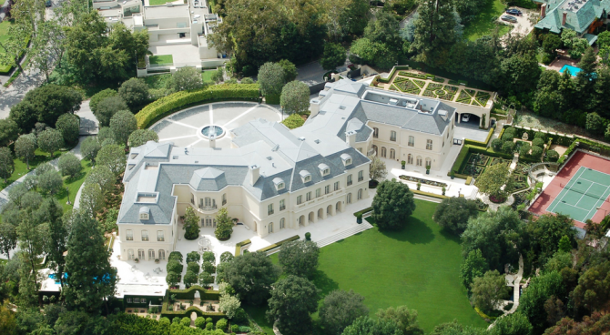 The Spelling Manor, Los Angeles (Mỹ): 150 triệu USD