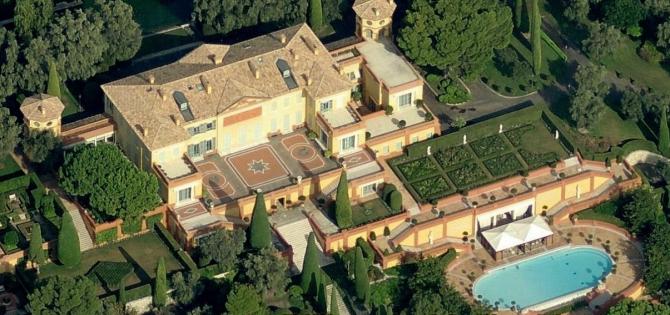 भिल्ला लिओपोल्डा, Villefranche-sur-meer (फ्रान्स): US $ 508 मिलियन