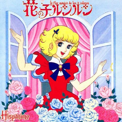 Anjo a menina de flor
