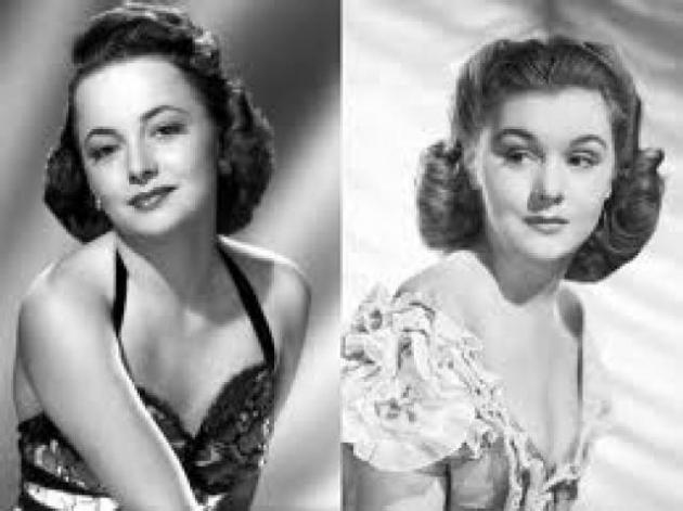 Joan Fontaine e Olivia de Havilland