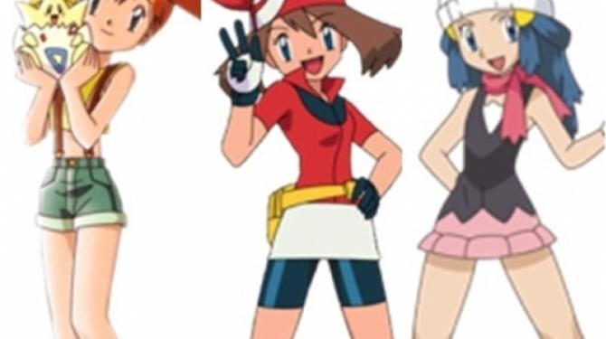 As meninas mais fofas do anime Pokémon