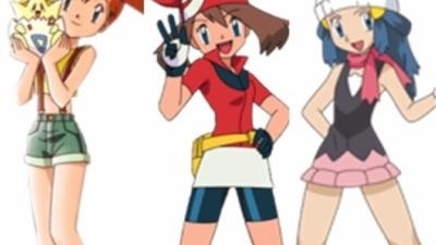 Les plus jolies filles de l'anime Pokémon