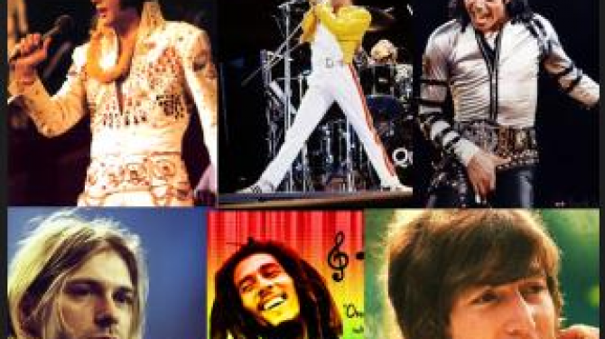 The 50 great musical icons of history